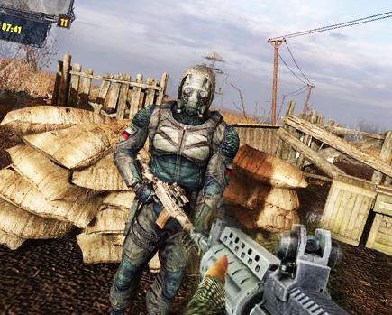 Stalker clear sky faction commander mod 25 final (eng/rus/2010/pc)