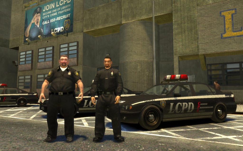 скачать мод на гта 4 работа в полиции