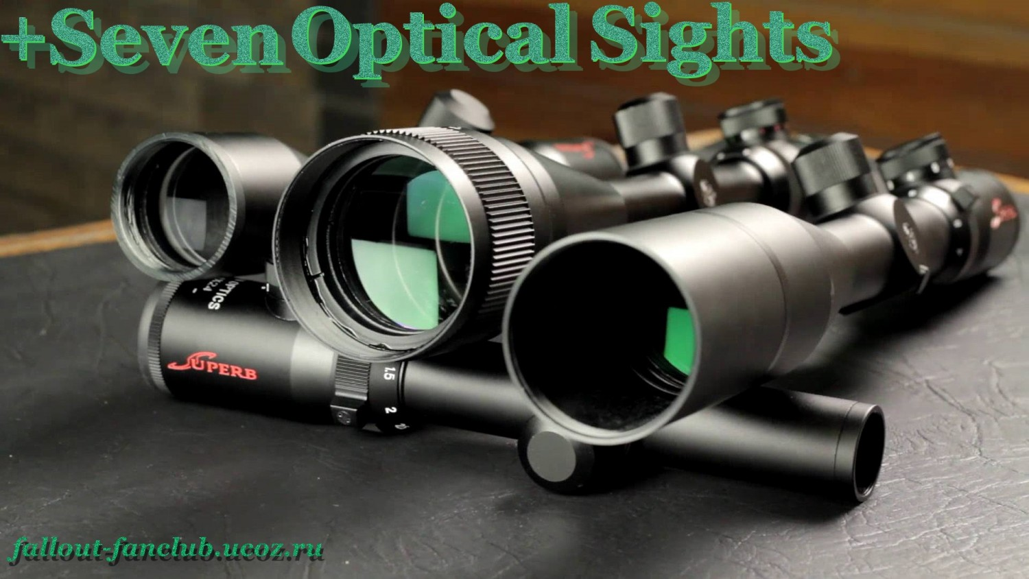 Fallout 4. +Seven Optical Sights. 1.0