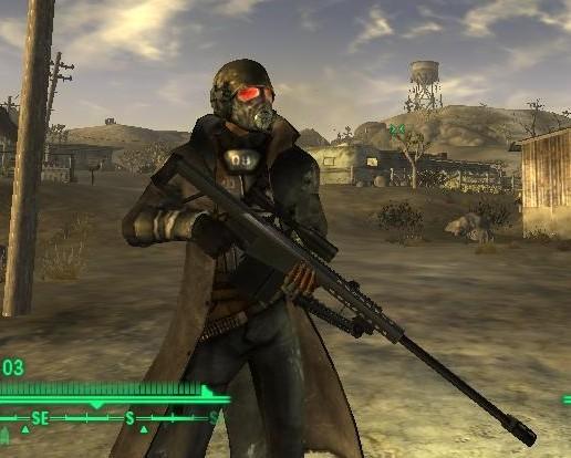 Fallout 3 New Vegas моды на Оружие